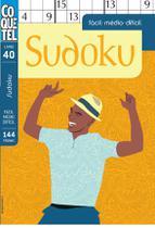 Livro - LIVRO COQUETEL SUDOKU FC/MD/DIF 40 -