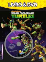 Livro - Livro e DVD: teenage mutant Ninja Turtles -