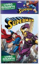 Livro - Livro gigante com quebra-cabeça: Superman -
