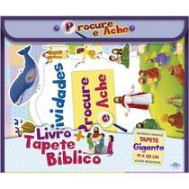 Livro - Livro + Tapete Bíblico: Procure e Ache -