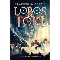 Livro - Lobos de Loki -