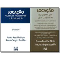 Livro - Locacao - Kit Com Leis 8.245 E 12.112/09 - 2011 - Malheiros editores -