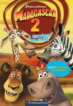 Livro - Madagascar 2 - A História Do Filme (Dreamworks) -