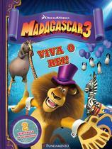Livro - Madagascar 3 - Viva O Rei! (Dreamworks) -