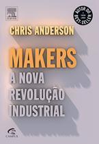 Livro Makers - A Nova Revolução Industrial - Editora campus