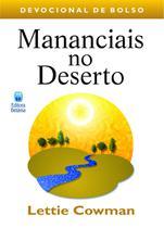 Livro - Mananciais no deserto - Volume 1: Devocional de bolso -