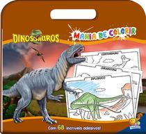 Livro - Mania de colorir: Dinossauros -