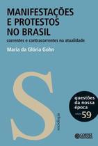 Livro - Manifestacoes E Protestos No Brasil - Cor - cortez editora
