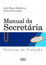 Livro - Manual da secretária: Técnicas de trabalho -