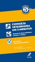Livro - Manual de consulta veterinária em 5 minutos -