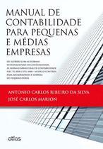 Livro - Manual De Contabilidade Para Pequenas E Médias Empresas -