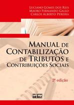 Livro - Manual De Contabilização De Tributos E Contribuições Sociais -