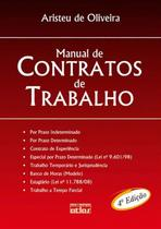Livro - Manual De Contratos De Trabalho -