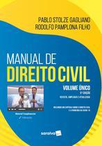 Livro - Manual de Direito Civil - Volume Único -