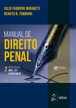 Livro - Manual de Direito Penal - Parte Especial - Vol. 2 -