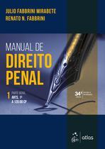 Livro - Manual de Direito Penal - Parte Geral - Vol. 1 -