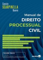 Livro - Manual De Direito Processual Civil - Vol. Único - 7ª Edição 2021 -