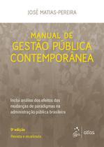 Livro - Manual de Gestão Pública Contemporânea -