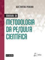 Livro - Manual de Metodologia da Pesquisa Científica -