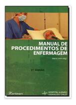 Livro manual de procedimentos de enfermagem ed. martinari - Editora Martinari