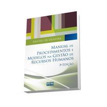 Livro - Manual De Procedimentos E Modelos Na Gestão De Recursos Humanos -