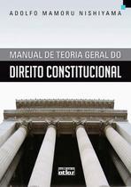 Livro - Manual De Teoria Geral Do Direito Constitucional -