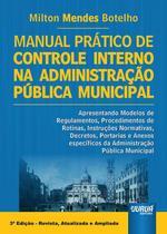 Livro - Manual Prático de Controle Interno na Administração Pública Municipal -