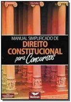 Livro manual simplificado de direito constituciona - Vestcon -