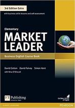 Livro - Market Leader 3rd Edition Extra Elementary Coursebook with DVD-ROM and MyEnglishLab Pack -