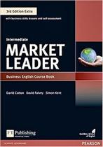 Livro - Market Leader 3rd Edition Extra Intermediate Coursebook with DVD-ROM and MyEnglishLab Pack -