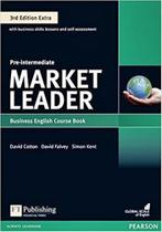 Livro - Market Leader 3rd Edition Extra Pre-Intermediate Coursebook with DVD-ROM and MyEnglishLab Pack -