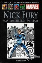Livro Marvel Nick Fury Agente Da Shield Parte Dois -