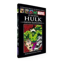 Livro Marvel O Incrível Hulk - Gritos Silenciosos -