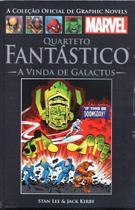 Livro Marvel Quarteto Fantástico A Vinda De Galactus -