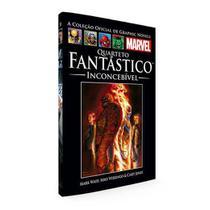 Livro Marvel Quarteto Fantástico - Inconcebível -
