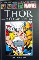 Livro Marvel Thor - O Último Viking -