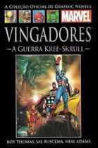 Livro Marvel Vingadores - A Guerra Kree - Skrull -