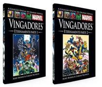 Livro Marvel Vingadores Eternamente (Parte 1+ Parte 2) - Combo