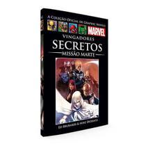 Livro Marvel  Vingadores Secretos - Missão de Marte - Combo