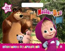 Livro - Masha e o Urso - Brincando de aprender -