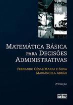 Livro - Matemática Básica Para Decisões Administrativas -