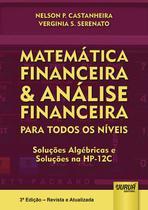 Livro - Matemática Financeira & Análise Financeira - Para Todos os Níveis -