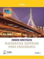 Livro - Matemática Superior para Engenharia - Vol. 1 -