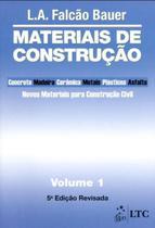 Livro - Materiais de Construção Vol. 1 -