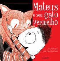 Livro - Mateus e seu gato vermelho -