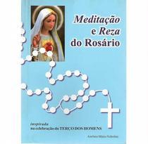 Livro meditação e reza do rosário - Armazem