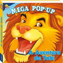Livro - MEGA POP-UP: AVENTURA DE TOBI, A -