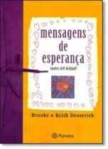 Livro - Mensagens de esperança -