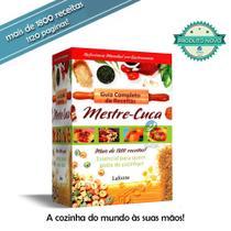 Livro Mestre Cuca Guia Completo 1800 Receitas - 1120 Páginas - Spmix