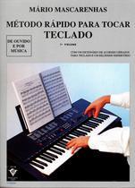 Livro - Método rápido para tocar Teclado - Volume 1 -